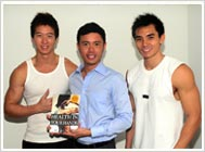 Darren Stephen Lim and Jason Chee with Dr. Kevin Lau and Your Plan for Natural Scoliosis Prevention and Treatment
