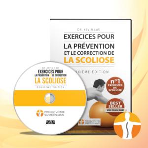 DVD d'exercice de la scoliose